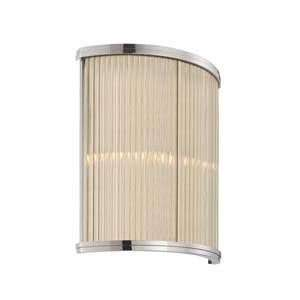 Sonneman 1970.35 Rivoli Polished Nickel Wall Sconce