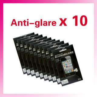 Anti glare Matte LCD Screen Protector for iPhone 4 x10