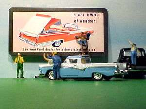 1959 Ford Fairlane 500 Retractable Billboard O 1/43