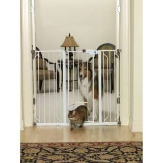 Carlson Pet Products Metal Gate, White 0932PW 891618009321