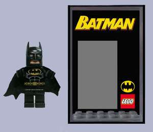 Batman Minifigure Display Case   keep your Minifigs safe & dust free
