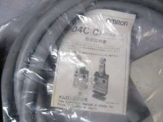 OMRON D4C 1620 Limit Switch SPDT Pin Plunger w/Cable *NEW*