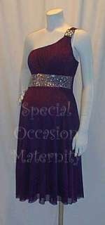 Band Dress Bolero Shoulder Maternity LARGE Special Formal Cocktail NWT