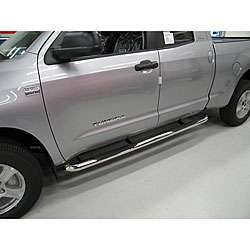 Toyota Tundra Double Cab 2007 09 Stainless Steel Nerf Bars