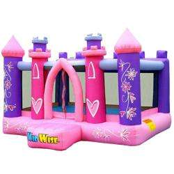KidWise Princess Party Inflatable Bounce House