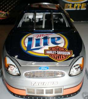 Nascar Diecast RUSTY WALLACE 124 Elite HARLEY DAVIDSON #2,258 of