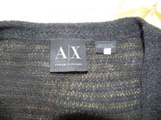 NWT Armani Exchange AX Mens Muscle Fit V Neck Sweater