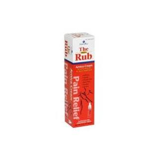 The Arnica Rub Pain Relief Arnica Cream for Sore Muscles