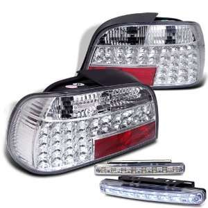 Eautolights 95 01 BMW E38 7 series LED Tail Lights + LED