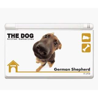Nintendo DS i Skin   The DOG Club German Shepherd