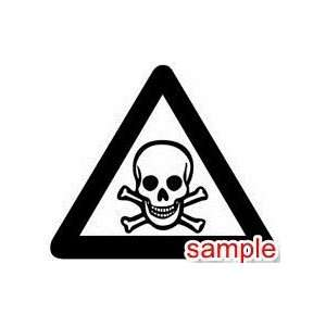 EVIL AND SKULLS SKULLS 05 10 WHITE VINYL DECAL STICKER