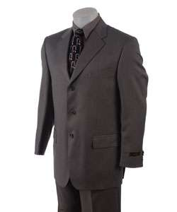 Joseph Abboud Three Button Grey Suit