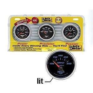 Auto Meter 6201 Cobalt Three Gauge Interact Pack Diesel