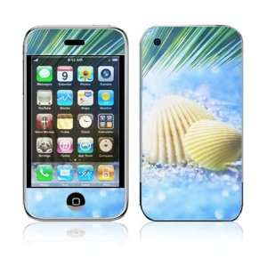 Apple iPhone 2G Vinyl Decal Sticker Skin   Summer Shell