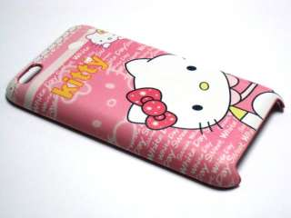 iPod Touch 4th Gen PU Leather cute Hello Kitty PINK