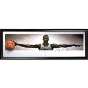 MICHAEL JORDAN Signed NIKE WINGS Break Through UDA   New