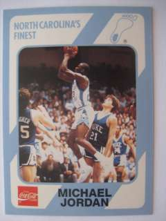 Michael Jordan   1989 Collegiate Collection + Card # 18