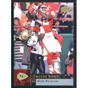 Dwayne Bowe   Chiefs   2009 Upper Deck NFL Football