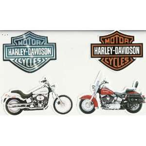 Harley Davidson Motorcycle Cut Outs Stickers  Toys & Games