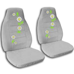 Ford Mustang GT seat covers. One front set of seat covers. Silver seat