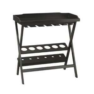 Carolina Chair & Table 3233 AB Sonoma Wine Storage and Serving Tray