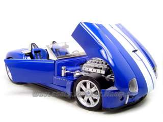SHELBY COBRA CONCEPT BLUE 118 DIECAST MODEL