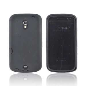 Black Hard Silicone Case Cover For Samsung Galaxy Nexus