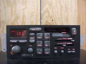 Delco Pontiac factory AM/FM cassette player radio 96 97 98 99 00 01 02