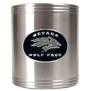 Nevada Wolf Pack   NCAA Stainless Steel Can Holder Sports