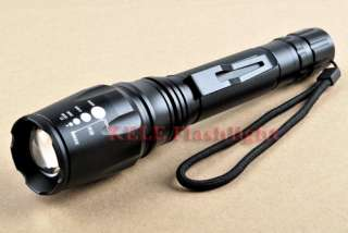 MXDL SA T68 1600LM CREE XM L T6 LED zoomable flashlight 18700 Battery