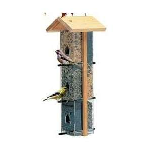 Hyde Cape Cod Silo Tube Bird Feeder Patio, Lawn & Garden