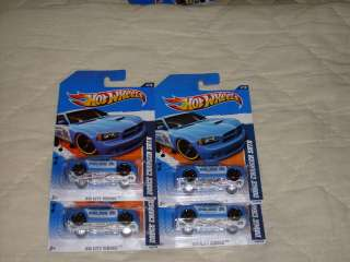 Hot Wheels 4 Dodge Charger SRT8 Police Car