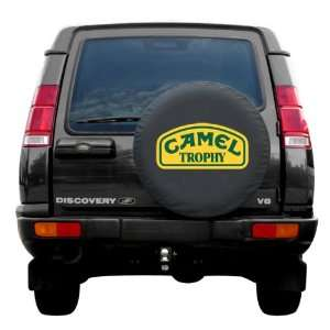SpareCover® Brawny Series   Camel Trophy Yellow 30 Tire