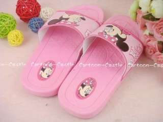Minnie Mouse Shoes Sandals Slippers Pink 16551