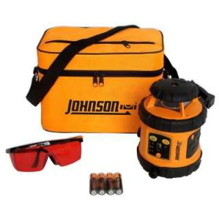 Johnson Self Leveling Rotary Laser Level 40 6515