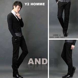 Mens Elegant Slim Fit Trendy Comfort Waistband Flat Front Dress Pants