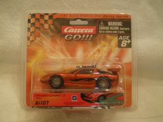 CARRERA GO TRIBAL CHEVROLET CORVETTE C5 61107 SLOT CAR