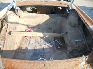 1954 or 1955 CADILLAC 2 DOOR COUPE ENGINE TRANSMISSION BARN FIND PARTS