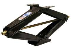 BAL SJ24 LoPro Leveling Scissor Jacks 1 Pair Travel Trailer, 5th Wheel