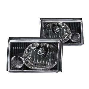 Anzo USA 121035 Ford Mustang Crystal Black Headlight Assembly   (Sold
