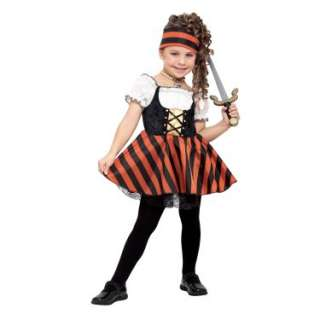 Pirate Girl with Striped Skirt Toddler Costume   Costumes, 33440