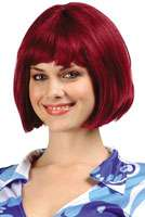 Barbara Ann Bob Costume Wig (Burgundy) listed price $21.95 Our Price