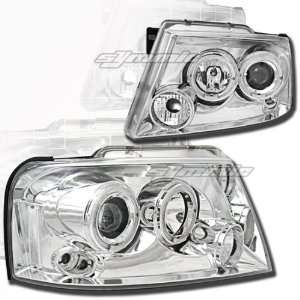 Ford F150 Headlights Chrome Clear Pro Headlights 2004 2005