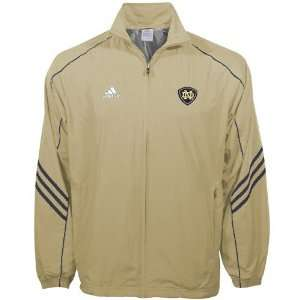 Adidas Notre Dame Fighting Irish Gold ClimaLite Jacket