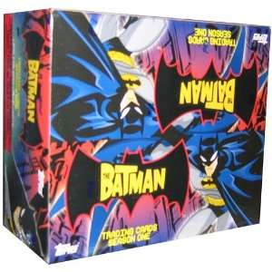 Batman The Animated Series #1 Trading Cards Box   24P/7C