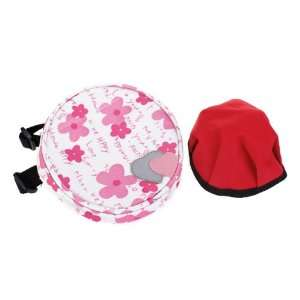 Round Shape Pet Dog Bag Backpack Bowl Harness Outdoor