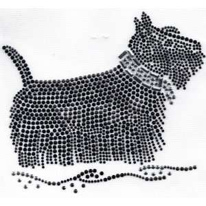 Rhinestone Transfer/Scottish Terrier/Dogs/Animals