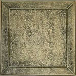 R 127 Styrofoam Ceiling Tile 20x20   Antique Brass