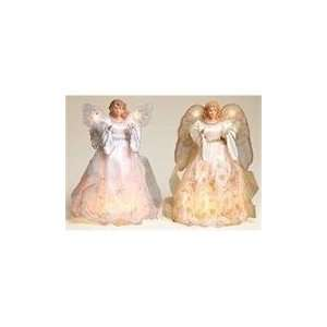 and Gold Lighted Christmas Angel Tree Toppers 13