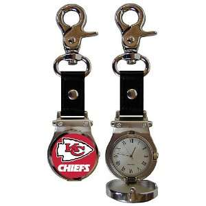 Kansas City Chiefs NFL Photodome Clip On Watch